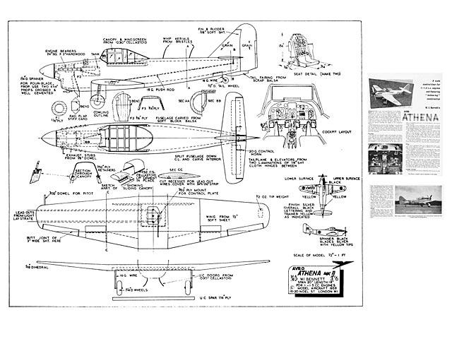 Avro Athena - 3197