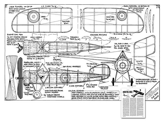 Bristol M1C - 3201