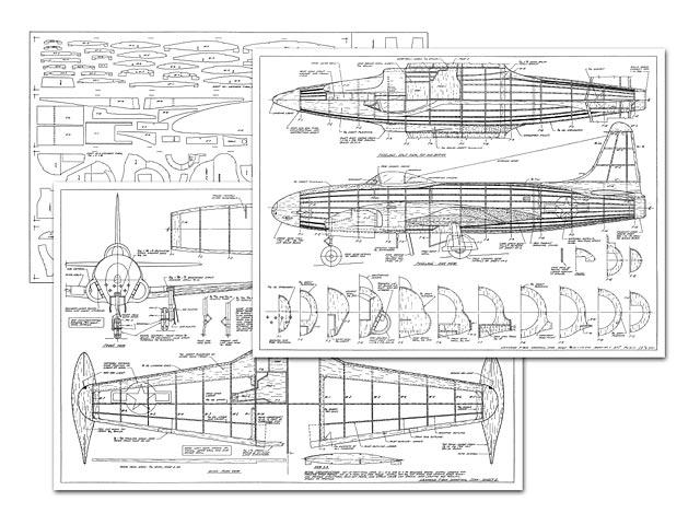 Lockheed P-80A Shooting Star - 3208