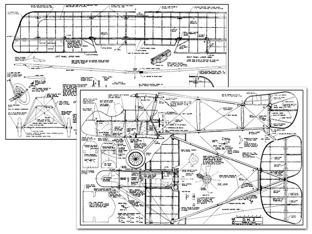 DeHavilland DH-2 - plan thumbnail image