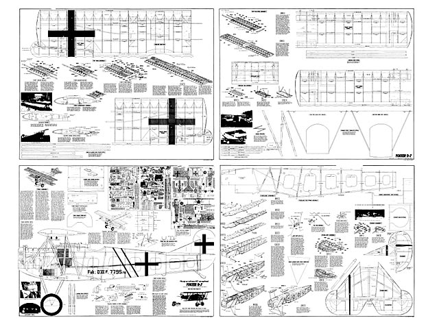Fokker D7 Plan Free Download Outerzone