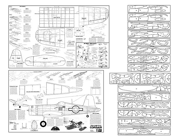 F4u 1a corsair plan free download outerzone for Sterling plan