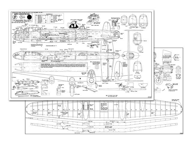 Avro Lancaster plan - Free download - Outerzone