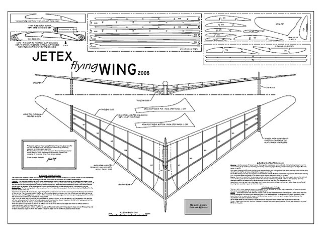Jetex Flying Wing 2008 (oz3492) by Steve Bage 2008