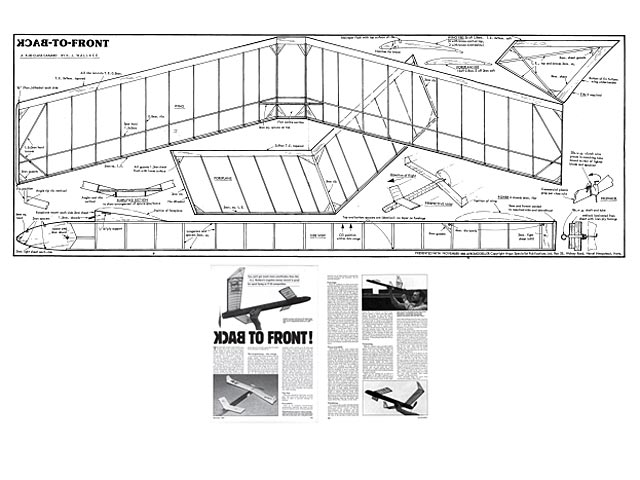 Back to Front (oz3502) by KJ Wallace from Aeromodeller 1986 - plan thumbnail