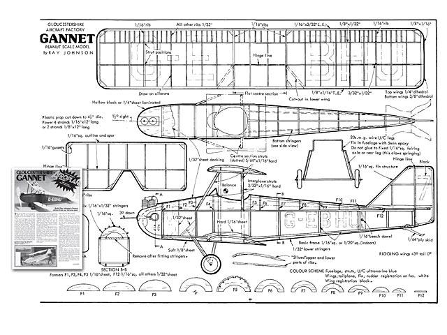 Gloucestershire Gannet - plan thumbnail image