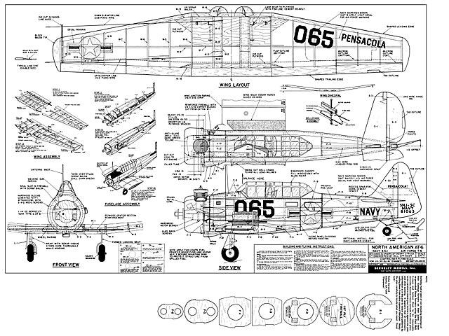 AT-6 Texan - plan thumbnail image