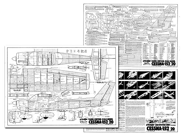 Cessna 152 20 plan - Free download - Outerzone
