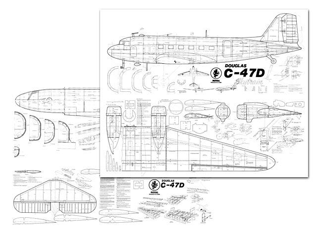 Douglas C 47d Skytrain Plan