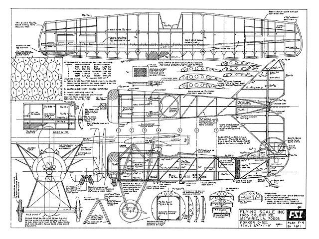 Fokker D8 (oz3648) by Bill Galloway from FSI