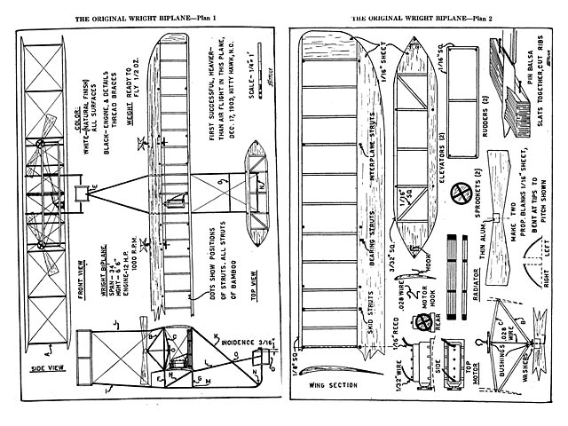 Wright Flyer plan - Free download - Outerzone