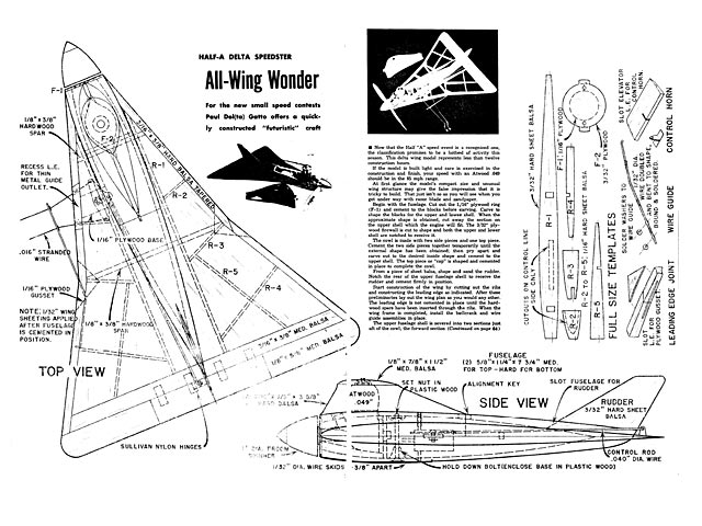 All Wing Wonder - plan thumbnail image