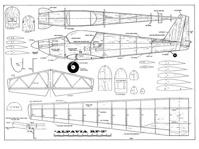 Alpavia RF-3  - plan thumbnail image