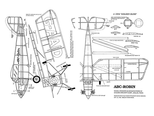 ABC Robin (oz3833) from Golden Aircraft Corp 1934