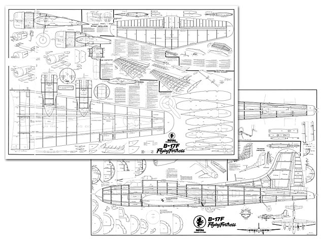 b-17f flying fortress plan - free download - outerzone