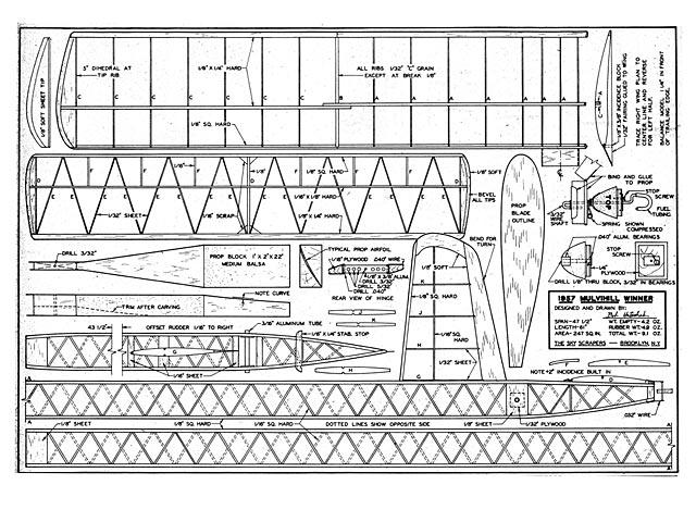 1957 Mulvihill Winner plan