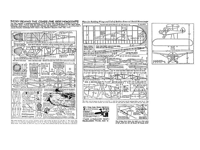 Monocoupe (oz3906) by Adrian McInnis from Modern Mechanix 1934