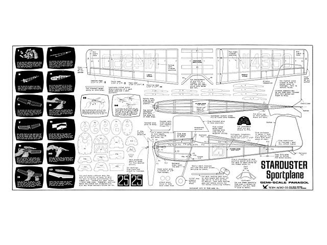 Starduster - Vito M Garofalo - Tern Aero - 1971 - 17in