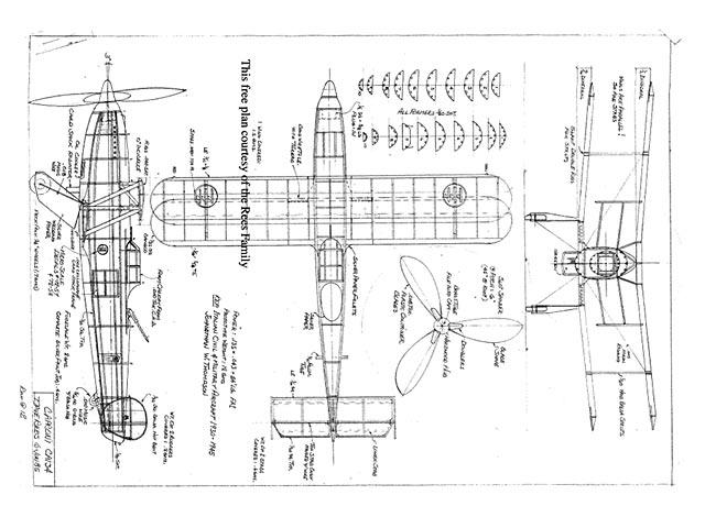 Caproni CA134 - plan thumbnail image
