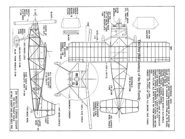 Corona Cougar - plan thumbnail image
