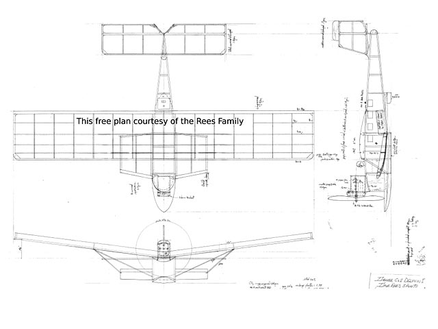 Dornier Cs2 Delphin I (oz3992) by Dave Rees 1990