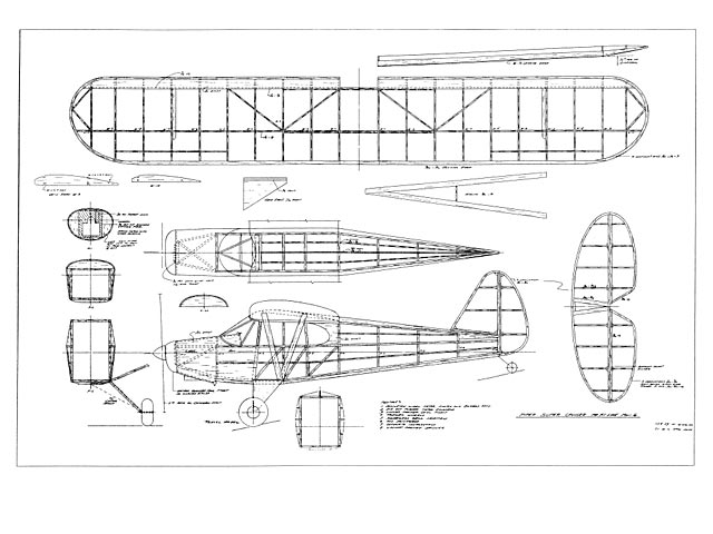 Piper Super Cruiser (oz40) by John Bell from Bell Models