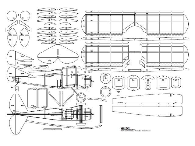 Spad XIIIG (oz4033) by Arno Diemer