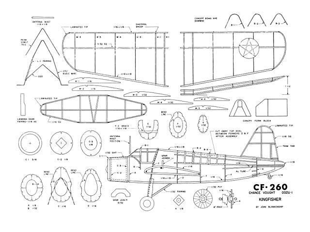 Vought Kingfisher CF-260 (oz4042) by John Blankenship