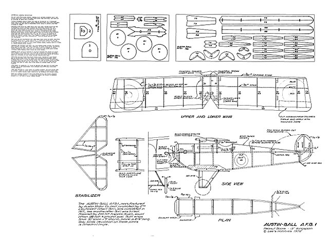 Austin-Ball AFB1 (oz4068) from Lees Hobbies 1972