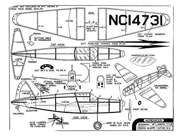 Aeroneer (oz4078) from Comet
