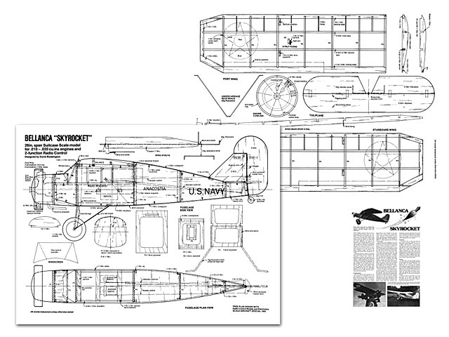 Bellanca Skyrocket - plan thumbnail image