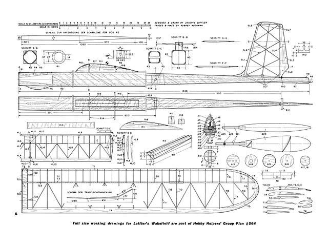 Loffler L-8 Wakefield Winner - plan thumbnail image