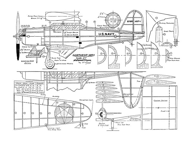 Northrop XBT-1 (oz4191) by Herbert K Weiss from Flying Aces
