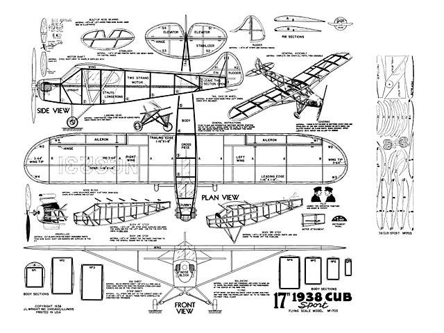 1938 Cub Sport - plan thumbnail image