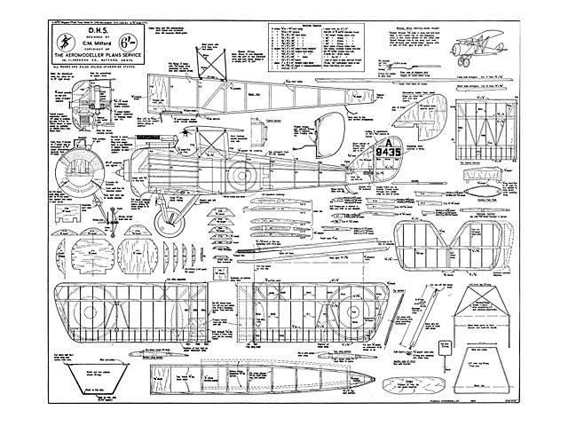Airco DH5 - plan thumbnail image