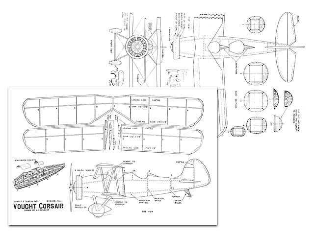 Vought Corsair (oz4274) by LH Deubler from Donald F Duncan