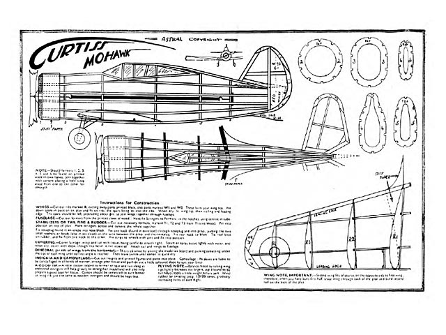 Curtiss Mohawk (oz4304) by Harold J Towner from Astral