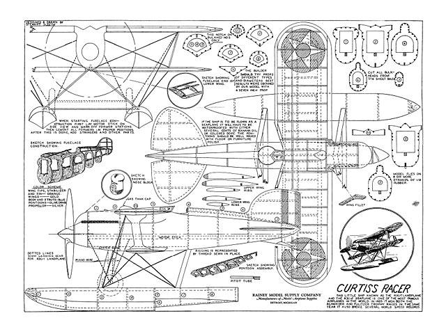 Curtiss Racer - plan thumbnail image