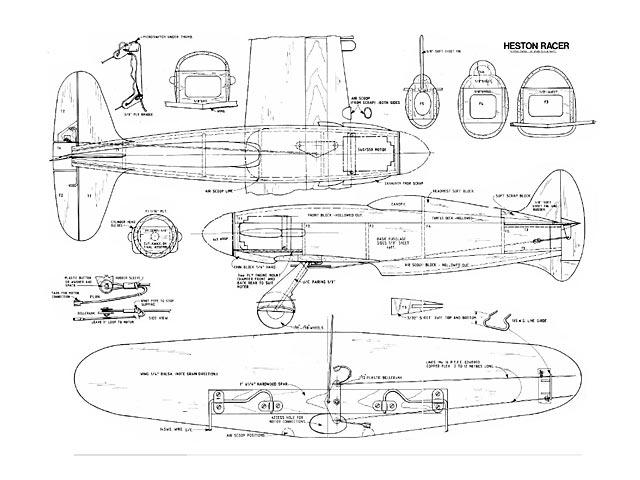 Heston Racer Plan - Free Download