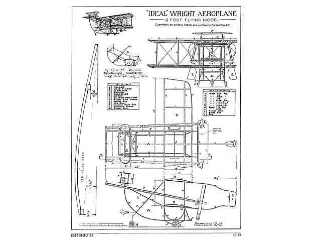 Wright Aeroplane (oz4350) from Ideal 1911