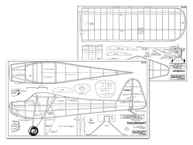 Taylorcraft (oz4352) from Miniature Aircraft Corp 1979