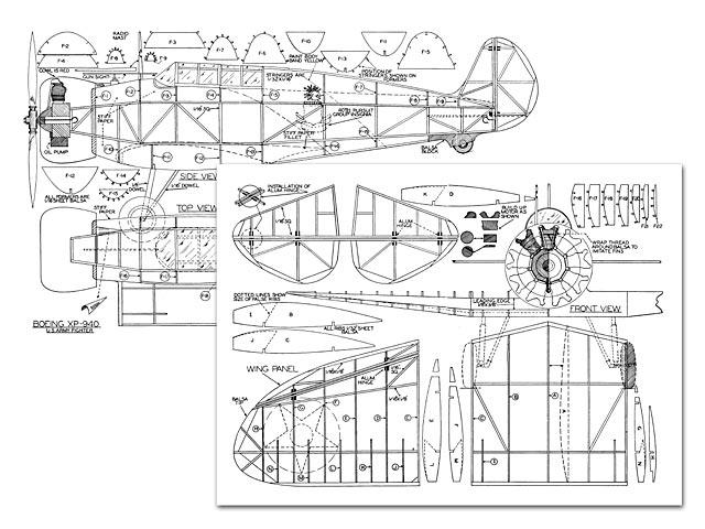 Boeing XP-940 - plan thumbnail image