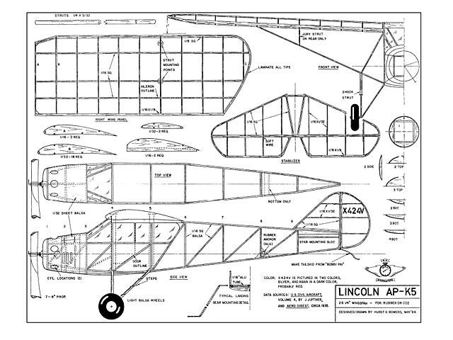 Lincoln AP-K5 (oz442) by Hurst Bowers
