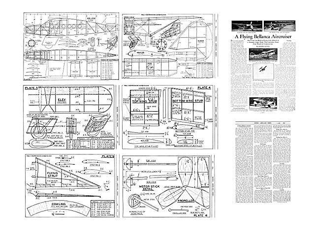 Bellanca Aircruiser - plan thumbnail image