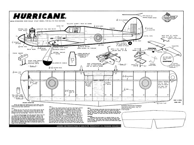 Hurricane (oz4499) from Aeroflyte