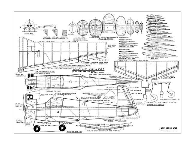Mooney M-18 Mite - plan thumbnail image
