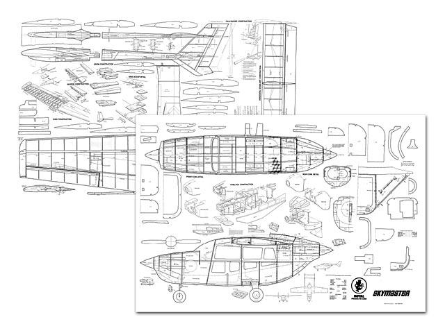 Cessna Skymaster - plan thumbnail image