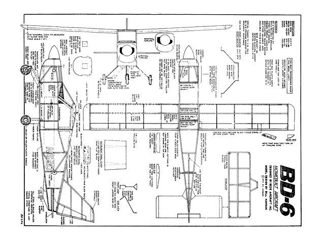 Bede BD-6 - plan thumbnail image