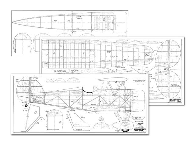 Waco CTO Taperwing - plan thumbnail image