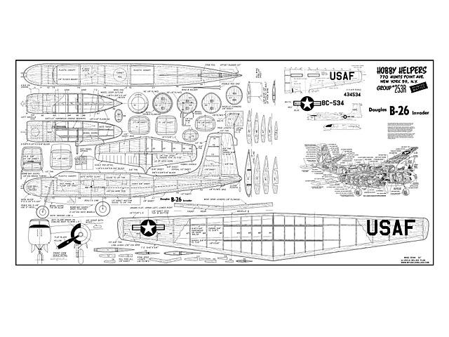 Douglas B-26 Invader - plan thumbnail image